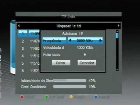 Como configurar seu Az Box Bravoo+ para o novo satélite Hispasat 30W