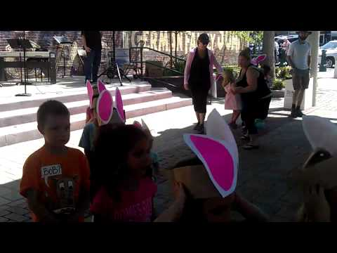 Redlands children enjoy a Bunny Hop during Easter Egg Hunt