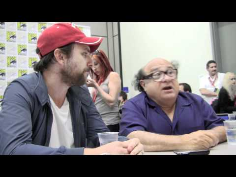 SDCC '11 Charlie Day & Danny DeVito