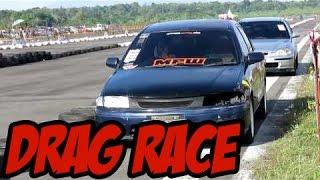 Drag Race Mazda 323 Familia, Vantrend dan Timor (Bimmer Race Day)