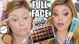 FULL FACE FIRST IMPRESSIONS | TESTING NEW MAKEUP