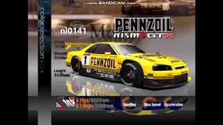 Gran Turismo 3 US Demo- All Cars Part 6 (Nissan)
