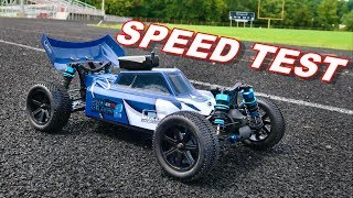 Blue Is Better 1/10 4WD RC Buggy Speed Test - TheRcSaylors