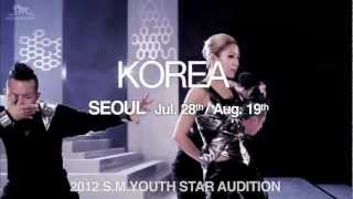 2012 S.M. YOUTH STAR AUDITION_Trailer