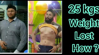 My Weight Loss Story:From 100 Kilos To 75 Kilos in 6 months | Fat to Fit | BY HFC.