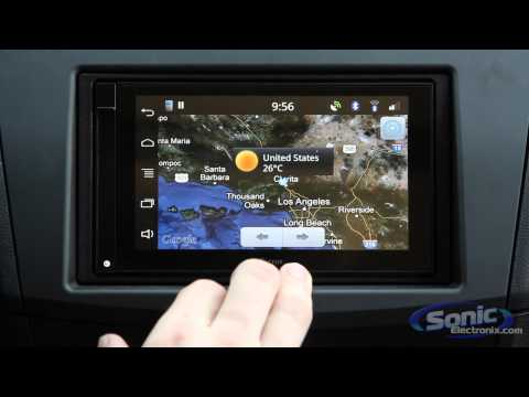 Parrot ASTEROID Smart In-Car Demo!   Android Powered Car Stereo