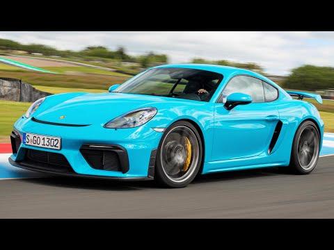 2020 Blue Porsche 718 Cayman GT4 - Pure Driver's Car