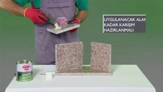 Somafix Granit Mermer Tutkalı