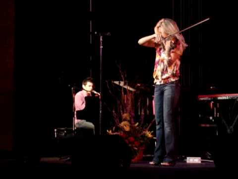David Archuleta & Kendra Lowe - To Be With You 9-28-09 Provo, Utah. Order: