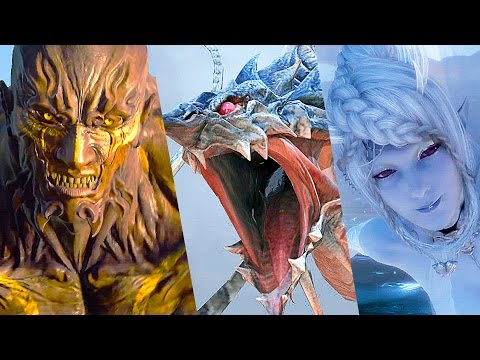 Final Fantasy XV All Summons