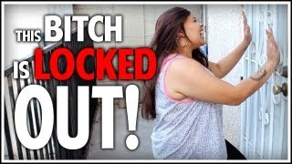 Michelle' gets LOCKED OUT!
