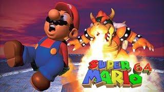 🔴[LIVE] Super Mario 64 [FINAL BOWSER FIGHT] 70 Power Stars!