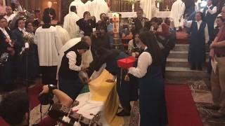 2.- Primera misa de cuerpo presente de Sergio Obeso Rivera Cardenal