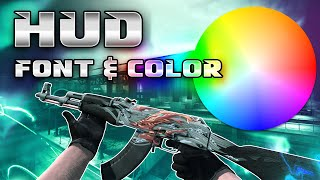 CSGO Tips - Changing HUD Color and Font (Font Outdated)