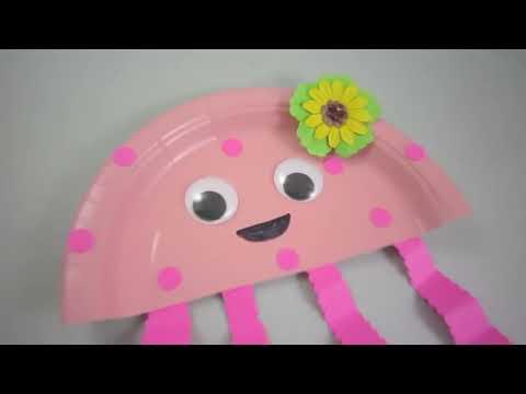 Episodio 598- Cómo hacer una Medusa con un plato de papel