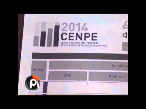 Censo Nacional Docente.-