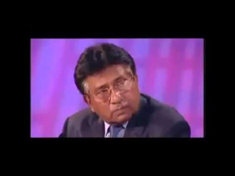 Pervez Musharraf bitch slapping on OBL question
