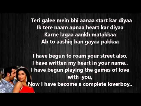 Dilli Wali Girlfriend Meaning Lyrics - Yeh Jawani Hai Diwani