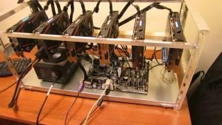 Майнинг 6 видеокарт на ASUS PRIME H270-PLUS