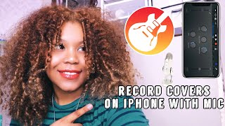 HOW TO: Record Youtube Cover on iPhone with Mic !