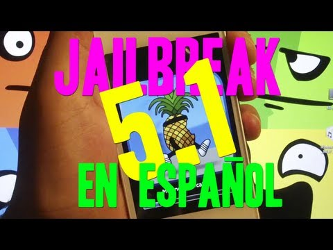 JAILBREAK 5.1 PARA IPHONE 4 3GS IPOD TOUCH 4G 3G & IPAD EN ESPAÑOL