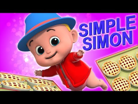 Simple Simon | Nursery Rhymes | Baby Songs For Kids | Children Rhymes For Junior Squad