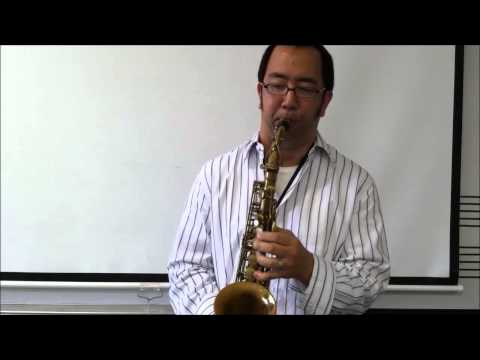 1934 Selmer Radio Improved Alto Sax video