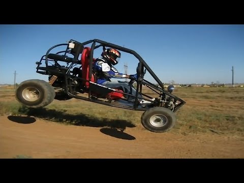 go kart jumps off road fun youtube. Black Bedroom Furniture Sets. Home Design Ideas