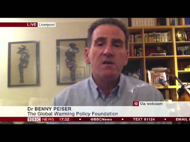 "Benny Peiser on BBC News 24: ""What does the IPCC AR5 Synthesis Report tell us?"