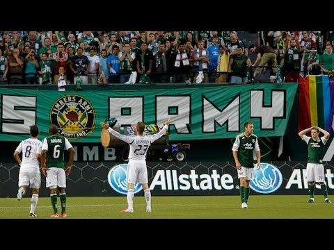 David Beckham, Landon Donovan Robbie Keane and the LA Galaxy travel north to take on Kris Boyd and the Portland Timbers for the third and final time during t...