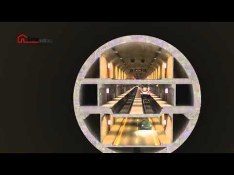 Boğaz'ın altına yapılması planlanan 3 katlı geçiş tüneli