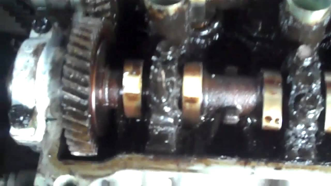 Toyota Corolla 4efe Engine Repair Camshaft Replacment