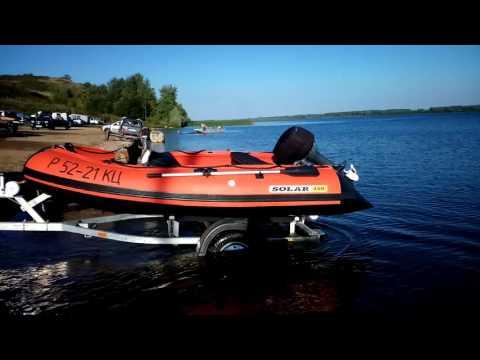 лодки солар 380 ютуб