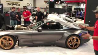 "Rob Dahm Interview  & his amazing AWD 4-Rotor Mazda RX-7 ""Ahura"" (4K)"