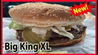 Burger King®   Big King™ XL   Food Review! 🍔👑   Taste Test & Review   JKMCraveTV