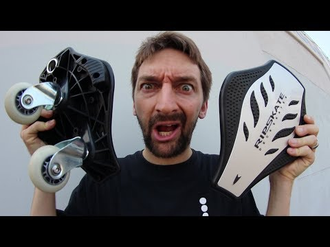 CRAZY DETACHABLE RIPSTICK SKATES?!