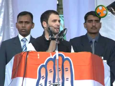 Shri Rahul Gandhi addressing an election rally at solan in Himachal Pradesh