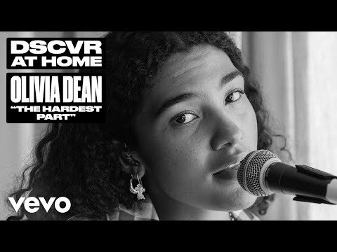 Olivia Dean - The Hardest Part (Live)   Vevo DSCVR At Home