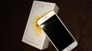 Apple iPhone 6s Gold 64GB - unboxing