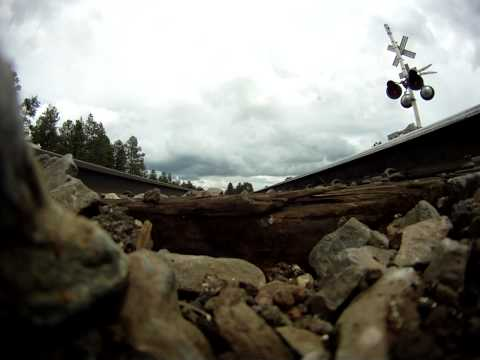 GoPro POV: What It Feels Like to Dodge a Train