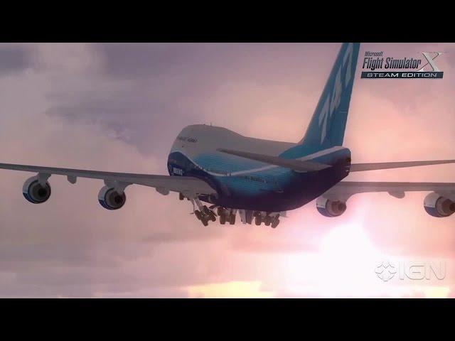 Microsoft Flight Sim X: Steam Edition Trailer