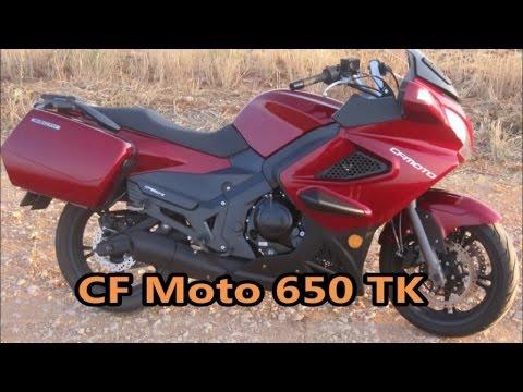 CF Moto 650 TK - Prueba Portalmotos