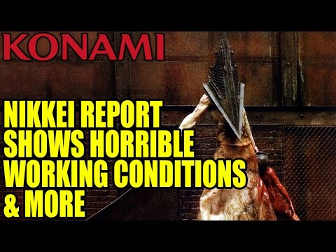 Nikkei Report Reveals Horrible Working Conditions At Konami & More