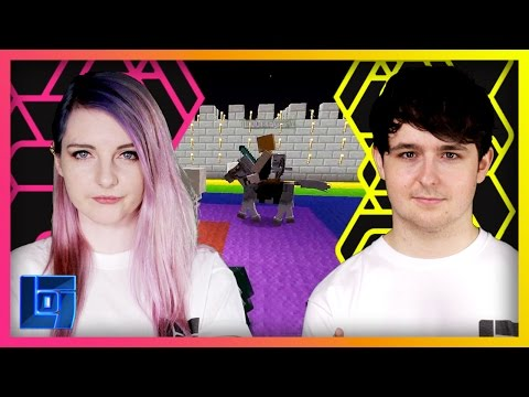 LDShadowLady vs Smallishbeans - Minecraft: Horse Race   Legends of Gaming