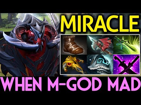 Miracle- Dota 2 [Shadow Fiend] When M-God Get Mad