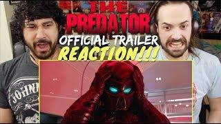 THE PREDATOR | Official TRAILER REACTION & REVIEW!!!