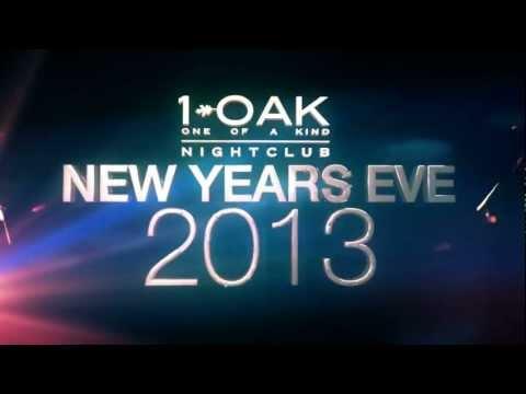 New Year's Eve 2013 at 1 OAK Las Vegas Nightclub