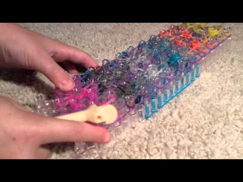 How to Make Double Starburst Rainbow Loom Bracelet