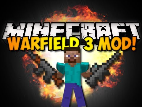 Minecraft: Warfield 3 Mod - TONS OF GUNS! (HD)