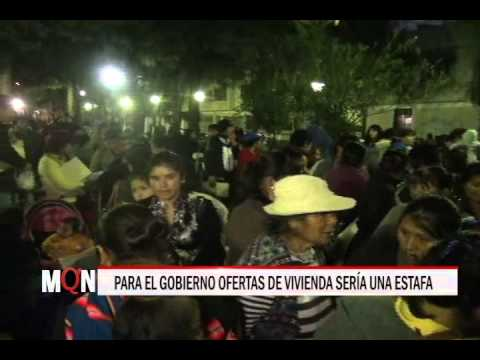 24/04/2015 18:55 PARA EL GOBIERNO OFERTAS DE VIVIENDA SERÍA UNA ESTAFA